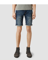 AllSaints Stamp Switch Denim Shorts