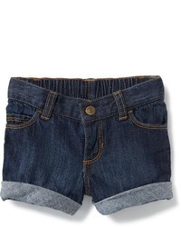 Old Navy Cuffed Denim Shorts For Toddler