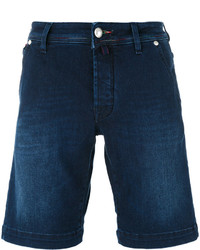 Jacob Cohen Denim Flag Bermuda Shorts