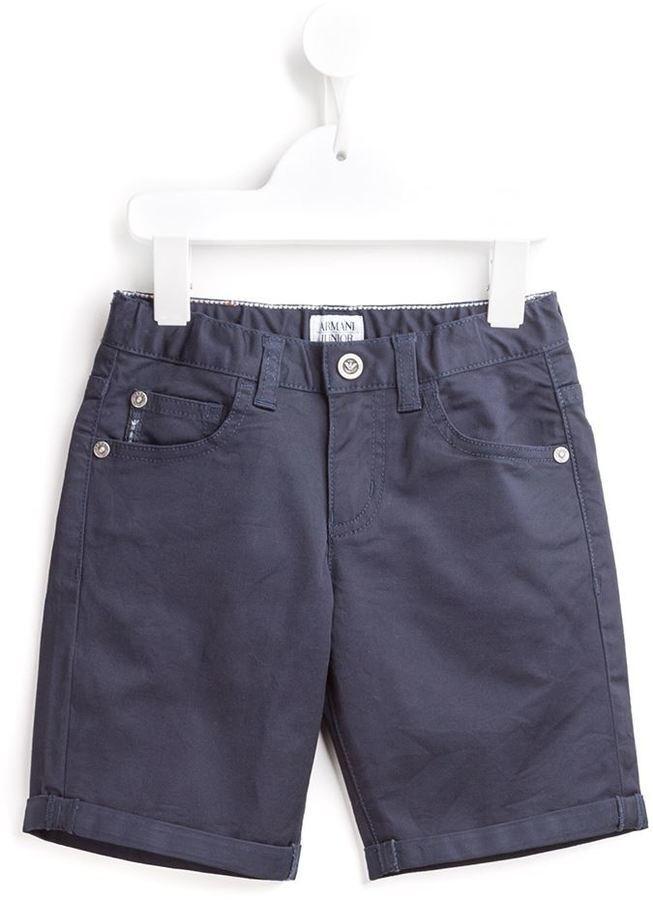 Armani Junior Denim Shorts