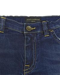 Dolce & Gabbana Stretch Cotton Denim Shorts