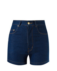 Amapô High Waist Denim Shorts