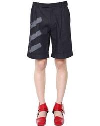 J w anderson pleated raw denim shorts medium 672228