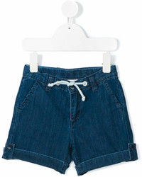 Knot Denim Shorts