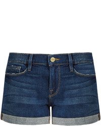 Frame Le Cutoff Mid Rise Denim Shorts