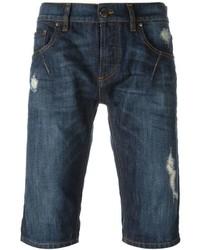 Les hommes urban distressed denim shorts medium 434384