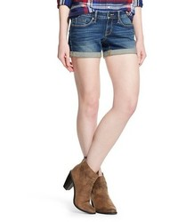 Mossimo Low Rise Midi Jean Short Dark Wash
