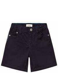 Armani Junior Navy Denim Shorts