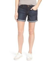 Wit & Wisdom Petite Ab Solution Cuffed Denim Shorts
