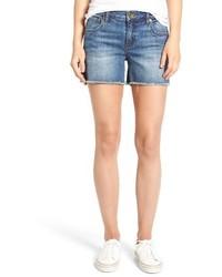 KUT from the Kloth Petite Gidget Denim Shorts