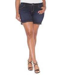 Plus Size Slink Jeans Stretch Denim Shorts