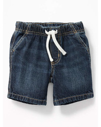 Old Navy Pull On Denim Shorts For Baby