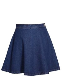 Chicnova dark wash skater skirt medium 124954