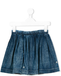 Diesel Kids Pleated Denim Skirt