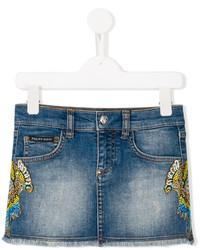 Philipp Plein Junior Jada Denim Skirt