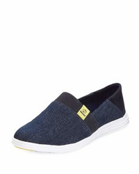 Cole Haan Ella Grand Slip On Sneaker Navy