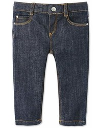 Navy Denim Trousers