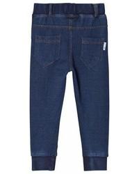 Ebbe Kids Blue Stone Wash Merlin Jersey Denim Pants