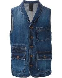 People denim waistcoat medium 345362