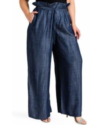 Standards practices cleo wide leg pants medium 6989266