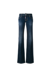 Dsquared2 Straight Leg Bootcut Jeans