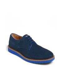 Navy derby shoes original 2409135