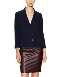 3.1 Phillip Lim Silk Garconnet Double Breasted Blazer