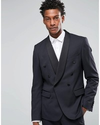 Asos Brand Slim Double Breasted Suit Jacket