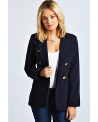 Boohoo Laura Double Breasted Blazer