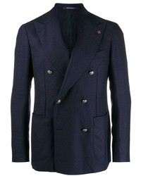 Tagliatore Checked Pattern Blazer