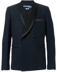 Comme des Garcons Junya Watanabe Comme Des Garons Man Shawl Lapel Double Breasted Blazer