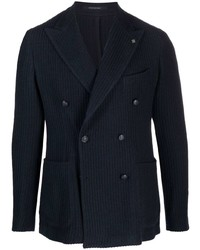 Tagliatore Double Breasted Buttoned Jacket