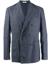 Boglioli Double Breasted Fitted Blazer