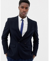 ONLY & SONS Double Breasted Suit Jacket
