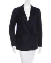 Brunello Cucinelli Double Breasted Wool Blazer