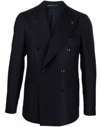 Tagliatore Fitted Double Breasted Jacket