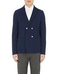Harris Wharf London Cavalry Twill Sportcoat Blue