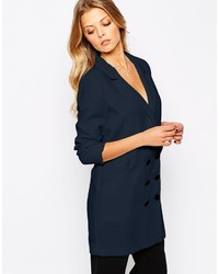 Vila Longline Double Breasted Blazer