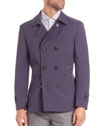 Brunello Cucinelli Macintosh Double Breasted Jacket