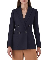 Reiss Tate Double Breasted Jacket