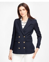 Brooks Brothers Wool Double Breasted Blazer