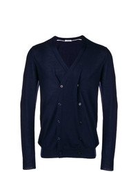 Paolo Pecora Double Breasted V Neck Cardigan