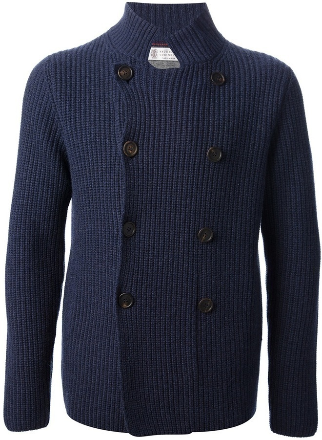 Brunello Cucinelli Ribbed Cardigan