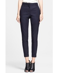 Burberry Brit Tarnock Cuffed Wool Blend Trousers