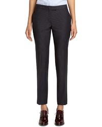 Brooks Brothers Janie Fit Wool Check Pants