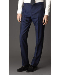 Burberry Modern Fit Wool Mohair Trousers