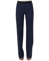 Akris Carl Double Face Stretch Trousers