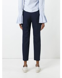 Theory Cropped Flared Trousers