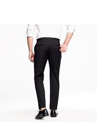 J.Crew Ludlow Classic Tuxedo Pant In Italian Wool