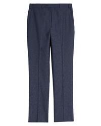 John W. Nordstrom Micro Plaid Trousers